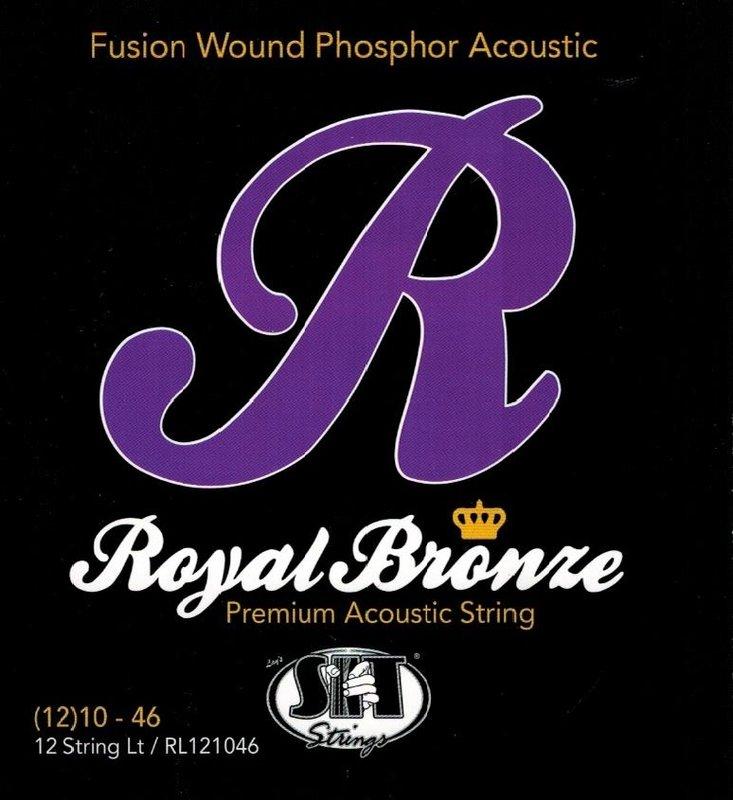 Strings for 12 string guitarcittern S.I.T. Saiten Royal Bronze