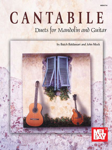 Cantabile - Duets for Mandolin and Guitar + online audio