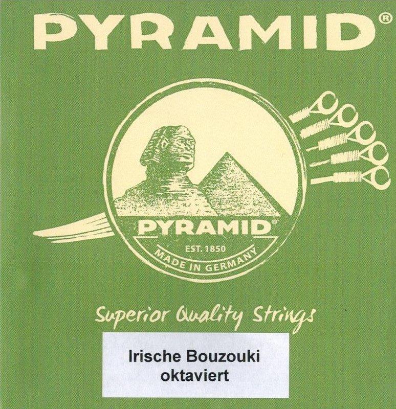 Saiten für Irish Bouzouki/Cister Pyramid - oktaviert