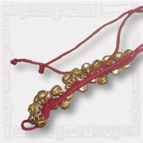 indian temple dancers\' bells ankle lace with medium bells