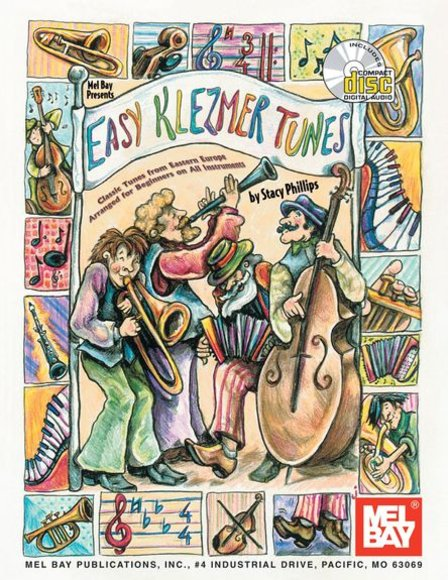Easy Klezmer Tunes - Book and Online Audio