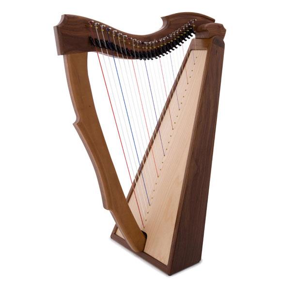 Bauplan Limerick Harfe