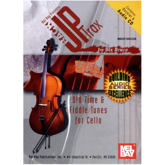BackUp Trax: Old Time & Fiddle Tunes for Cello Noten + CD