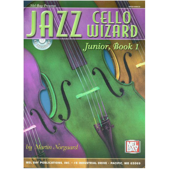 Jazz Cello Wizard - Book + CD