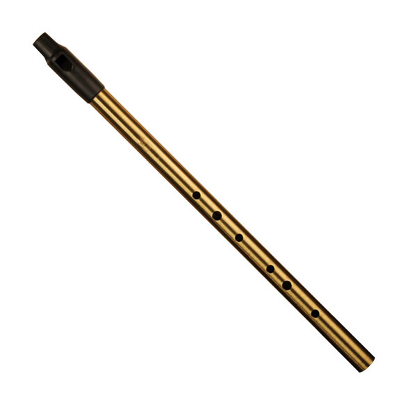 Howard Low Whistle D (gold)
