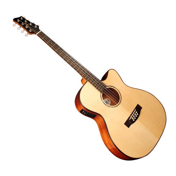 Irish guitar bouzouki with pickup