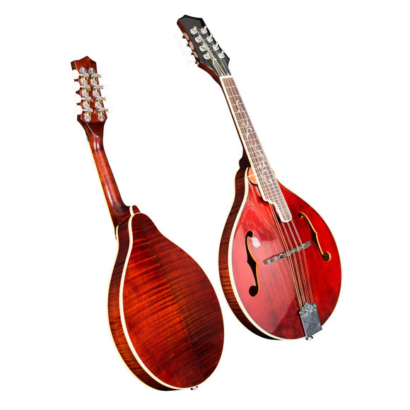 Folkfriends A-Mandolin Vintage Premium flamed maple