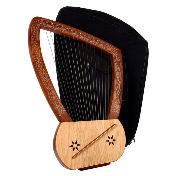 Lyre with soft case