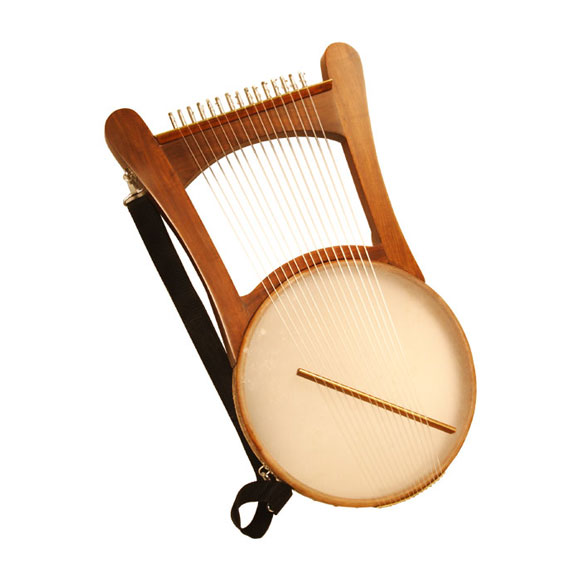 Nevel Harp with soft case