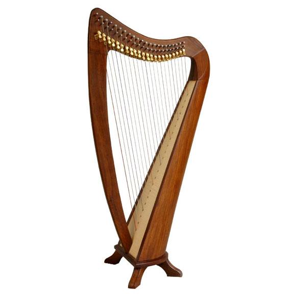 Folkfriends Harfe 22 Saiten mit Tasche und abnehmbaren Füßen