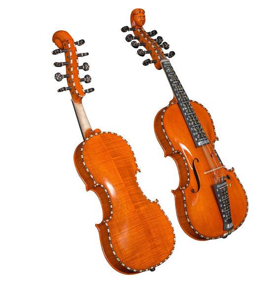 Hardangerfiedel (4/4) Hardingfele - norwegische Violine