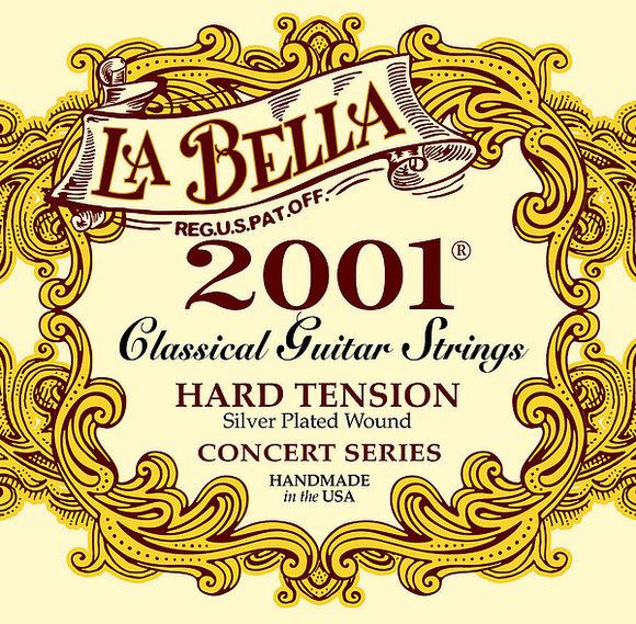 La Bella Saiten für klassische Gitarre - 2001 Concert - hard
