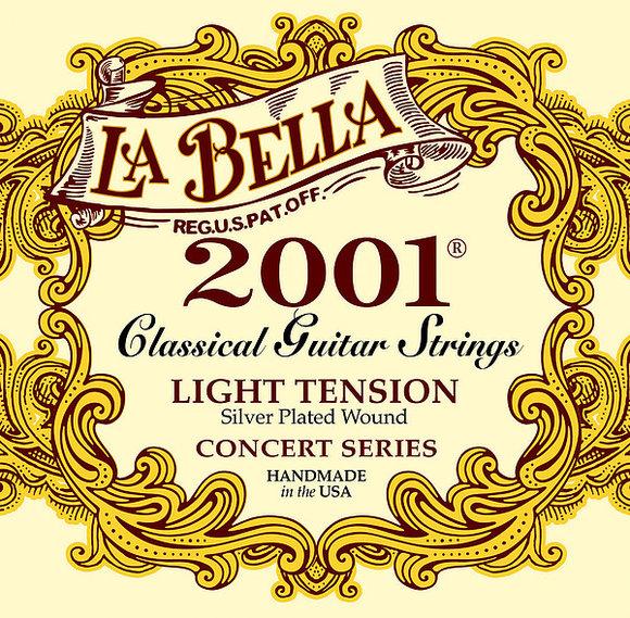 La Bella Saiten für klassische Gitarre - 2001 Concert - light
