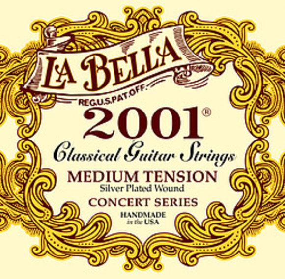 La Bella Saiten für klassische Gitarre - 2001 Concert - medium