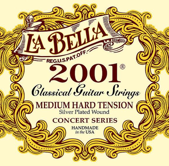 La Bella Strings For Classic Guitar - 2001 Concert - Medium Hard