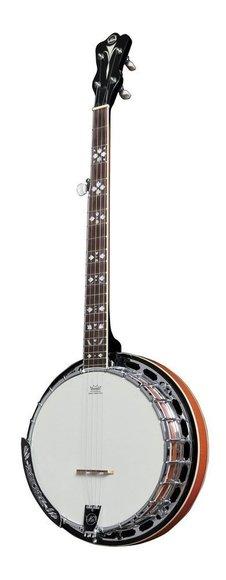 5-String Banjo VGS Premium mit Koffer