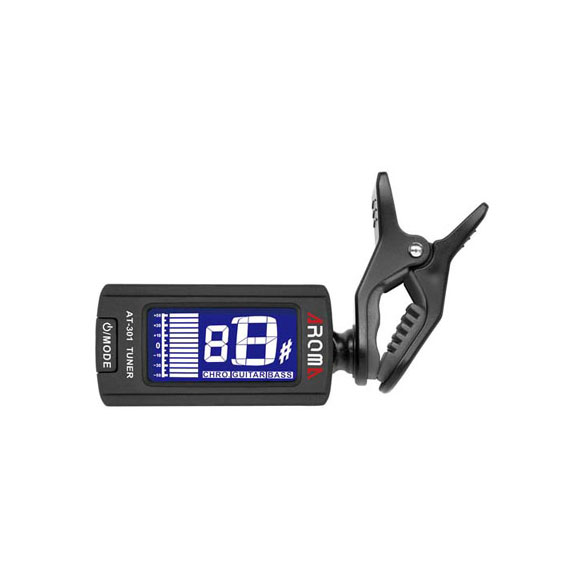 Clip-on tuner AT-301