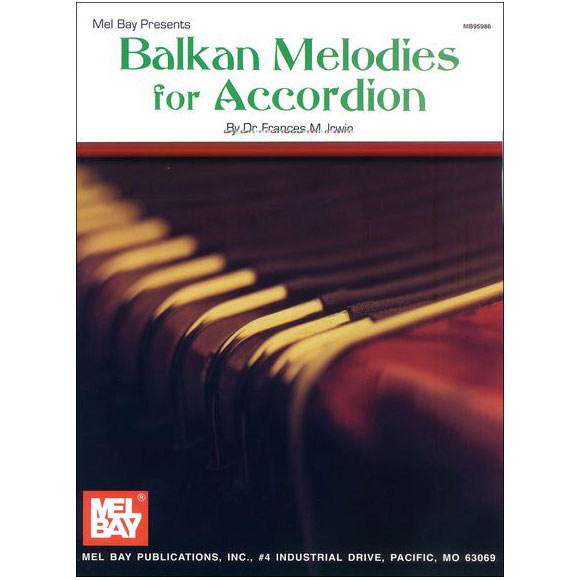 Balkan Melodies for Accordion