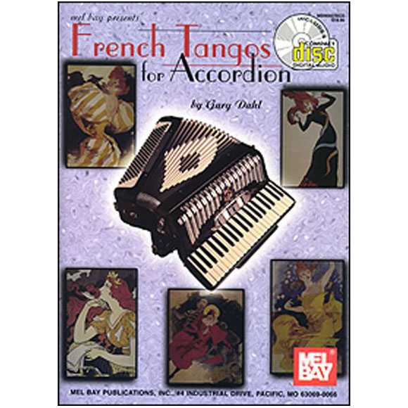 French Tangos for Accordion - Book + CD en