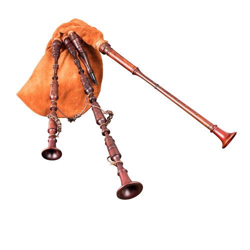 Marktsack-Hümmelchen mit rotbraunem Sack