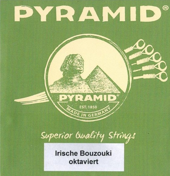 Strings for Irish Bouzouki/Cittern Pyramid - octave