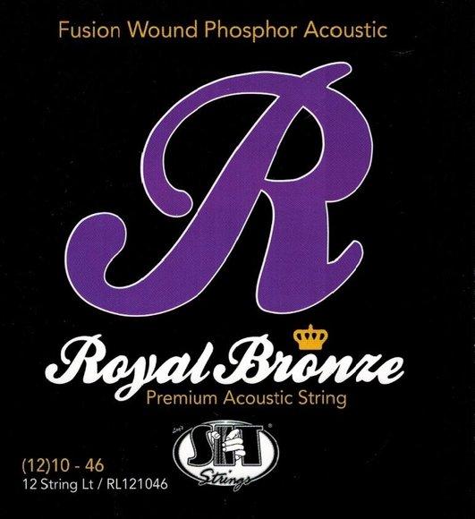 Saiten für 12-saitige Gitarrencister S.I.T. Royal Bronze