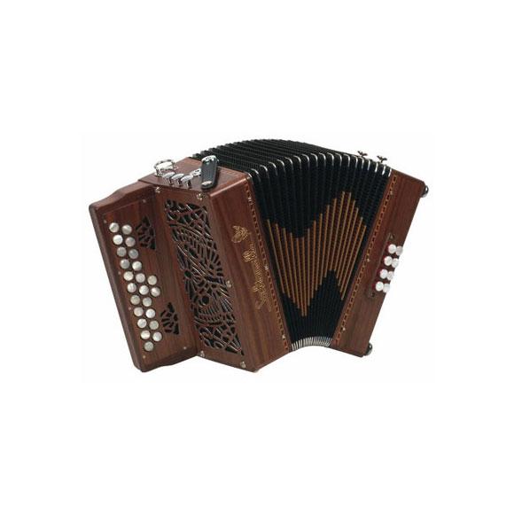 """Saltarelle diatonisches Akkordeon - """"Calirrhoé"""""""