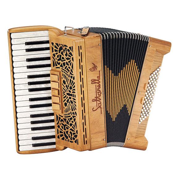 "Saltarelle chromatic accordion ""Cleggan"""