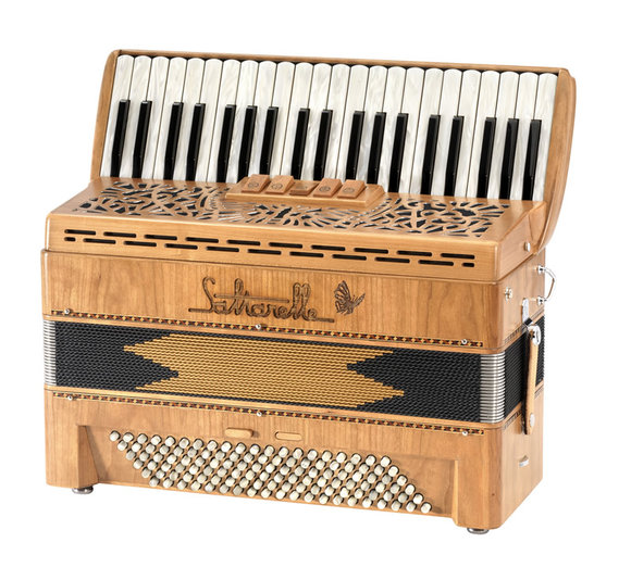 "Saltarelle chromatic accordion ""Bonaparte"""