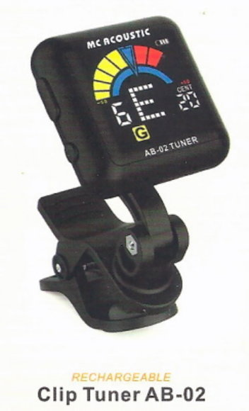 Rechargeable Clip-on Tuner AB-02