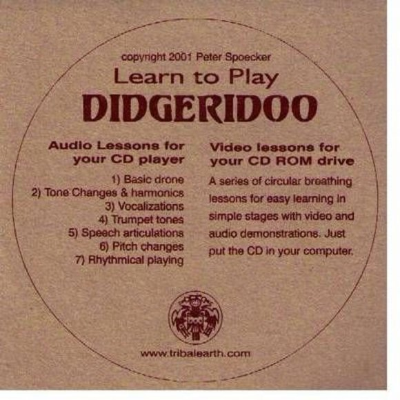 Didgeridoo CD-ROM tutorial