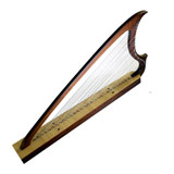Gothic Harp 29 - strings with bag